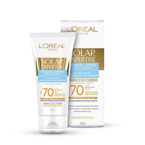 Protetor-Solar-Facial-L-Oreal-Toque-Limpo-FPS70---50ml