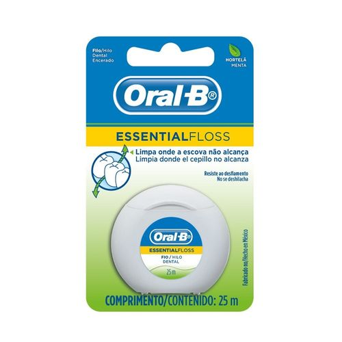 Fio-Dental-Oral-B-Essencial-Menta---25m