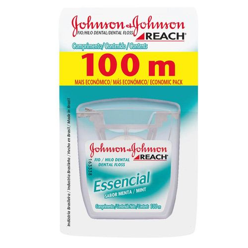 Fio-Dental-Johnson---Johnson-Essencial-Menta---100m