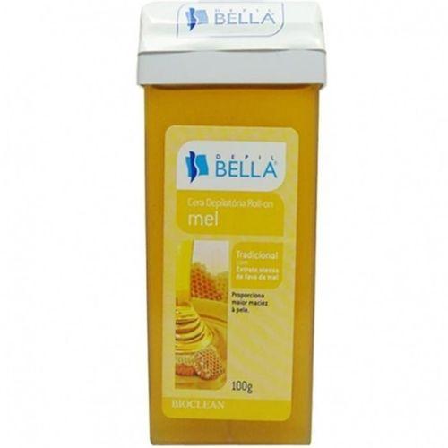 Cera-Depilatoria-Depil-Bella-Roll-On-Mel---100g