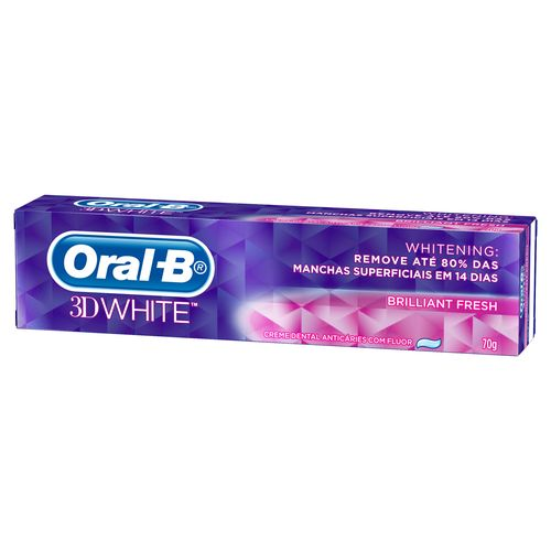 Creme-Dental-Oral-B-3D-White-Brilliant-Fresh---70g