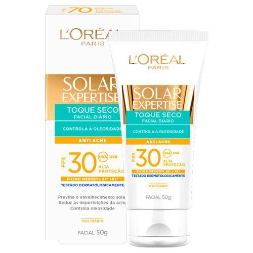 Protetor-Solar-Facial-L-Oreal-Toque-Seco-FPS30---50ml