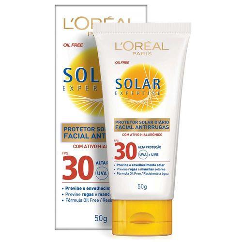 Protetor-Solar-Facial-L-Oreal-Anti-Rugas-FPS30---50g