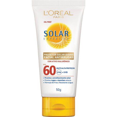 Protetor-Solar-Facial-L-Oreal-Anti-Rugas-FPS60---50g
