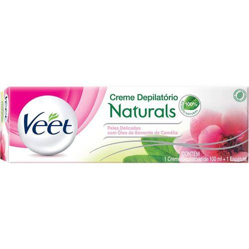 Creme-Depilatorio-Veet-Natural-Oleo-de-Camelia---100ml