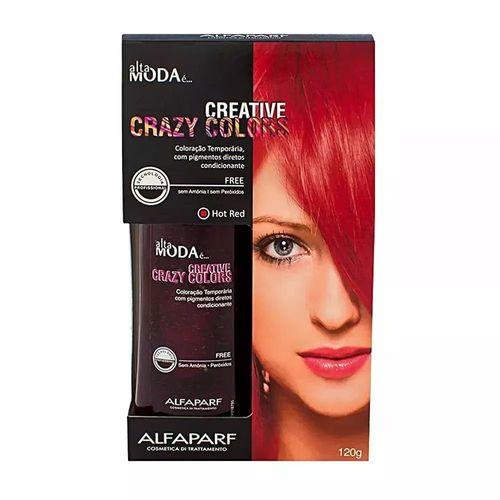 Tonalizante-Alta-Moda-Crazy-Colors-Hot-Red