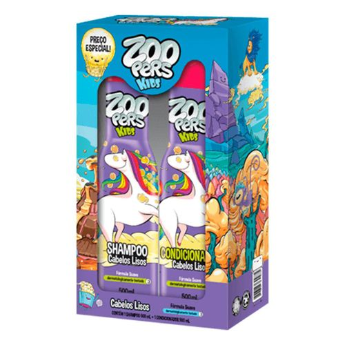 Kit-Shampoo---Condicionador-Zoopers-Lisos