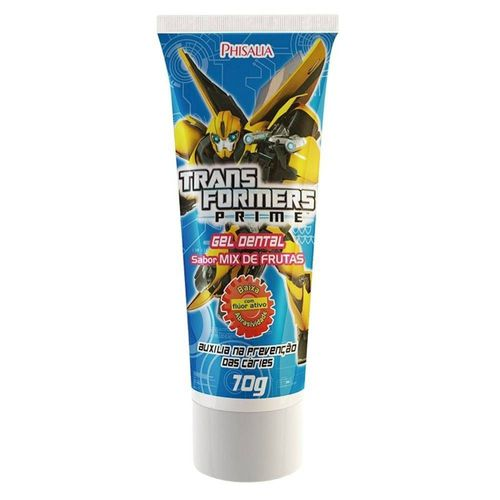 Gel-Dental-Bitufo-Transformers-Mix-de-Frutas-Sem-Fluor---100g