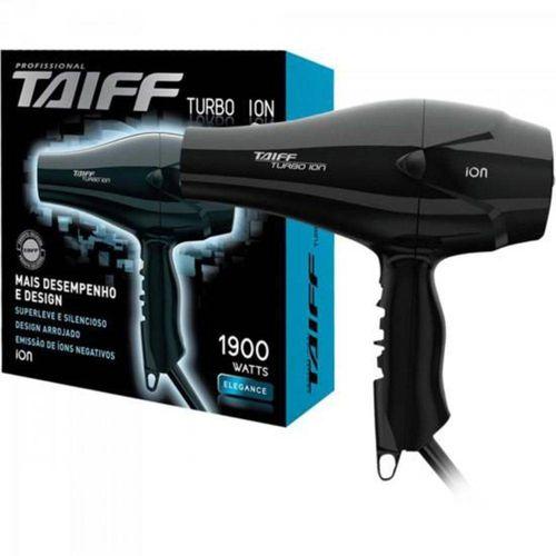 Secador-TAIFF-Turbo-Ion-Preto-220V