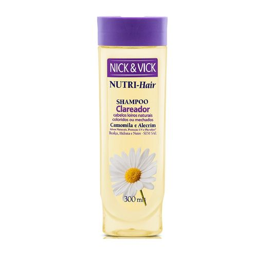 Shampoo-Nick-Vick-Clareia-Camomila---300ml