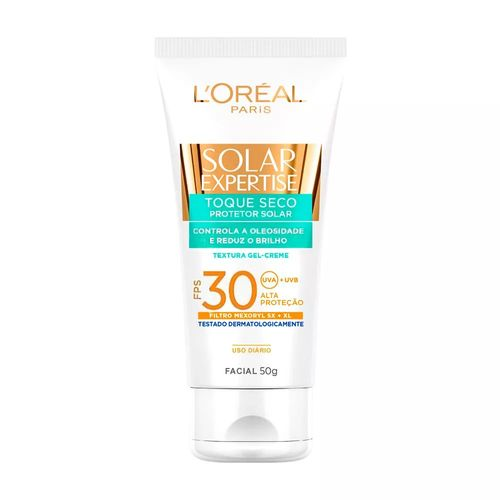 Protetor-Solar-Facial-L-Oreal-Expertise-Toque-Seco-Antiacne-FPS-30---50g