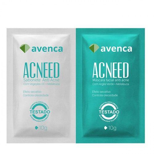 Mascara-Facial-Avenca-Acneed-Antiacne---10g