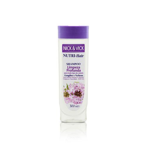 Shampoo-Limpeza-Profunda-Nick---Vick-Gengibre-e-Verbena-300ml