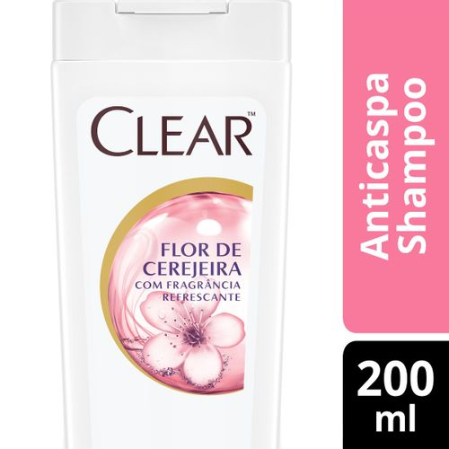 Shampoo-Anti-Caspa-Clear-Women-Flore-de-Cerejeira--200ml