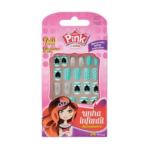 Unha-Infantil-Autoadesiva-Pink-By-Kiss-Sticker-Dazzlin