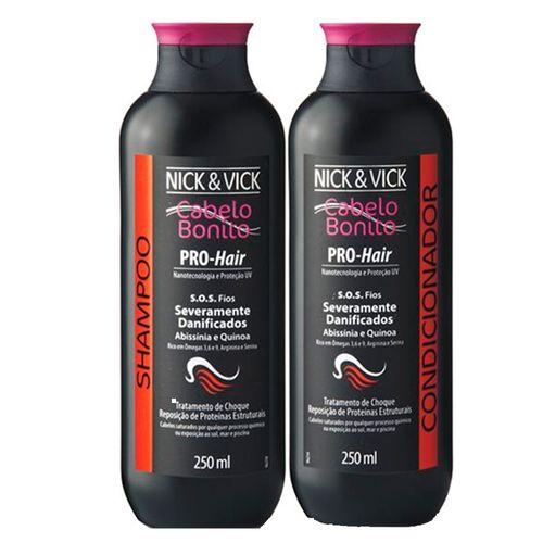Kit-Shampoo---Condicionador-Nick---Vick-Pro-Hair-SOS-250ml