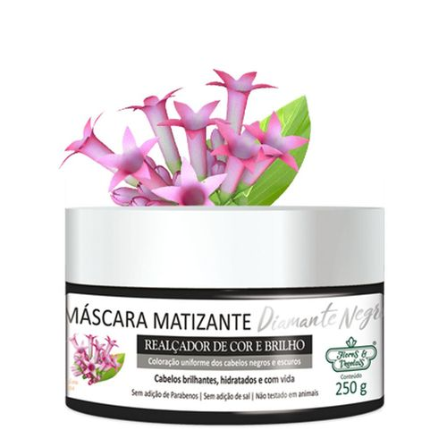 Mascara-Matizante-Flores---Vegetais-Diamante-Negro-250g
