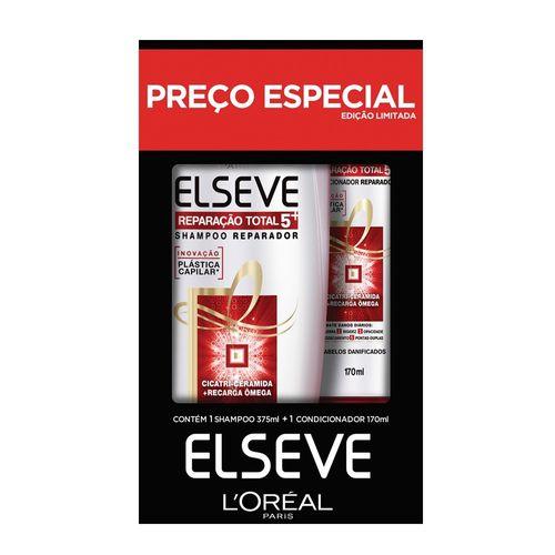Kit-Elseve-Reparacao-Total-5-Shampoo-375ml-e-Condicionador-170ml