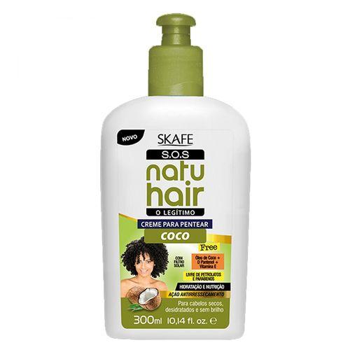 Creme-para-Pentear-Natu-Hair-S.O.S-Coco-300ml