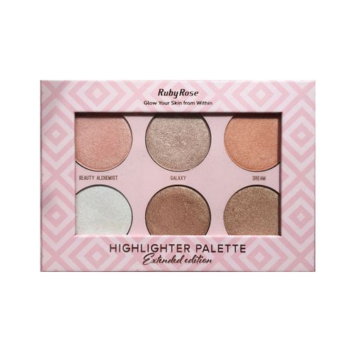 Paleta-de-Iluminador-Ruby-Rose-Highlighter-Extended-Edition-HB-7501