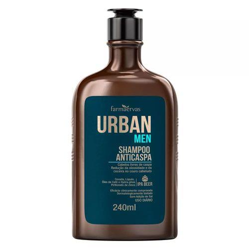 Shampoo-Farmaervas-Urban-Anticaspa-Men-240ml