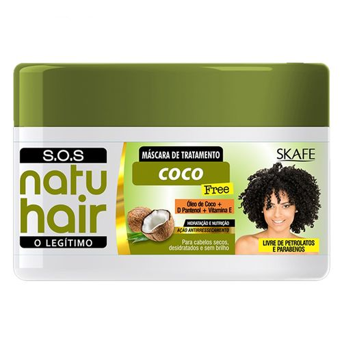 Mascara-Natu-Hair-S.O.S-Coco-350g