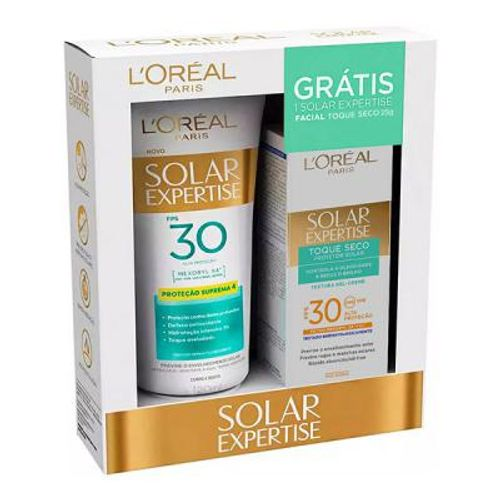 Kit-Protetor-Solar-Loreal-F30---Protetor-Solar-Facial-F30-