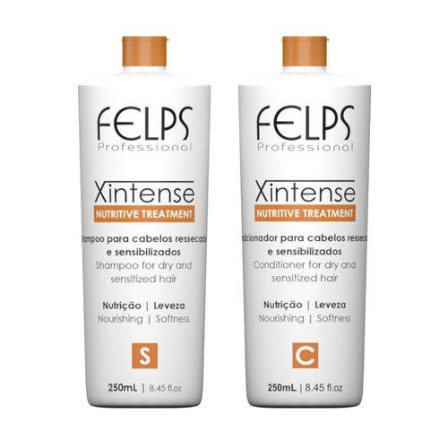 Kit-Shampoo-Condicionador-Home-Profissional-Felps-200ml
