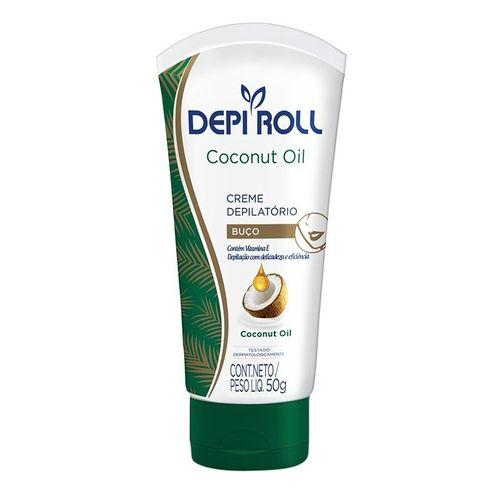 Creme-Depilatorio-Corporal-Depiroll-Oleo-de-Coco-100g