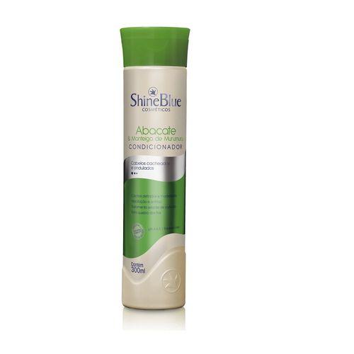 Condicionador-ShineBlue-Abacate---Manteiga-de-Murumuru-300ml