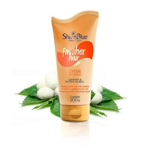 Creme-de-Pentear-Finisher-Hair-200g-Queratina-e-Proteina-da-Seda