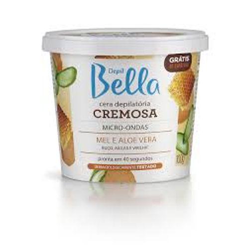 -Cera-Microondas-Depil-Bella-Mel-Aloe-Vera---100g