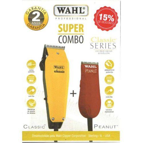 Kit-Wahl-Maquina-Classic-127V---Peanut-Vermelha-220V