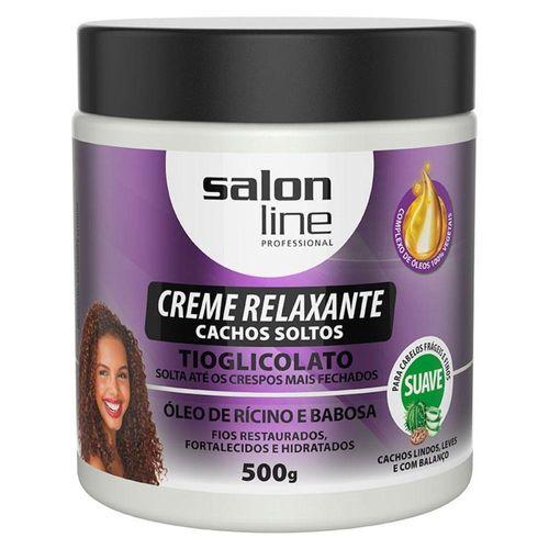 Creme-Alisante-Salon-Line-Cachos-Soltos-Ricino-E-Babosa-500g