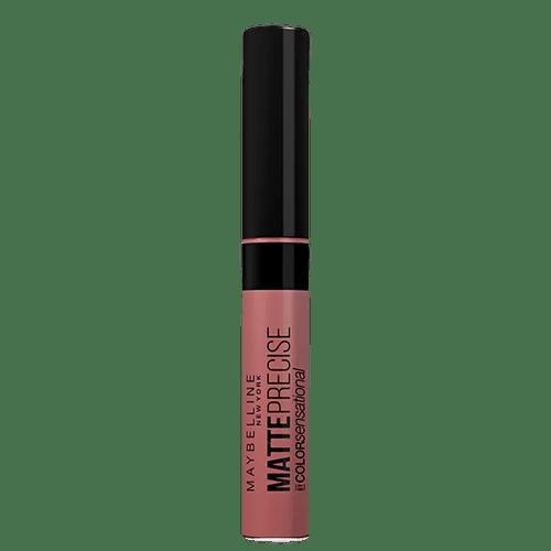 Batom-Liquido-Maybelline-Color-Sensational-Matte-Precise-Nudezineo