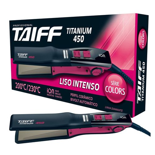 Chapa-Profissional-Taiff-Titanium-450-Colors-Bivolt