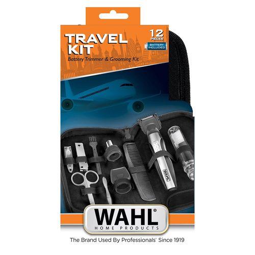 Kit-Aparador-De-Pelos-Wahl-Clipper-Travel-Bivolt