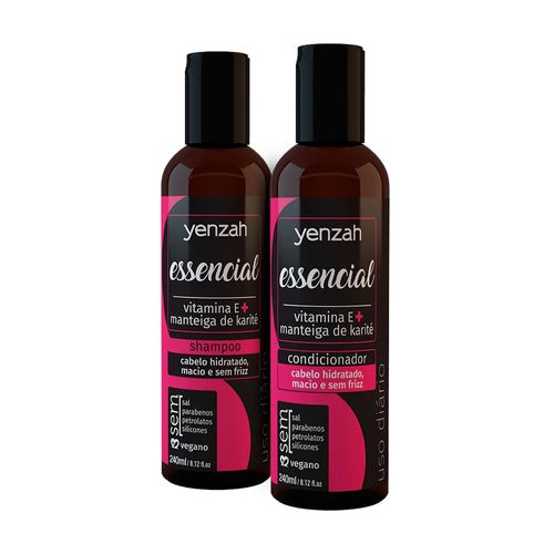 Kit-Essencial-Shampoo-240ml---Condicionador-240ml---Yenzah-