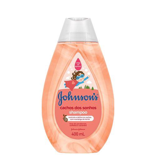 Shampoo-Infantil-Johnson---Johnson-Cachos-dos-Sonhos---400ml