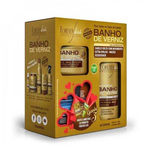 Kit-Banho-de-Verniz-Shampoo-300ml---Mascara-250ml---Forever-Liss-Fikbella-138797