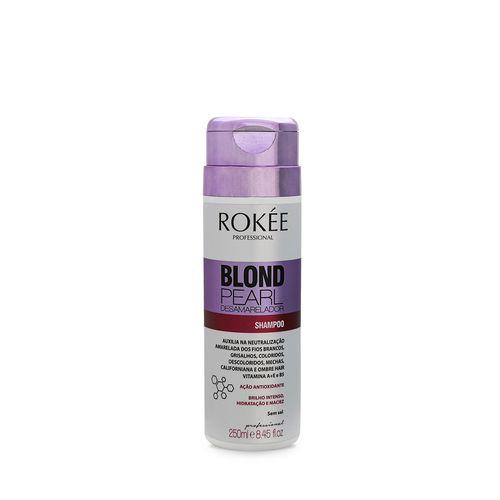 Shampoo-Blond-Pearl-Desamarelador-ROKEE-Professional-250ml-Fikbella-121990