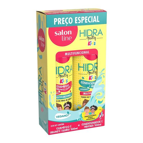 Kit-Shampoo---Condicionador-Hidra-Multy-Kids-Salon-Line---300ml-Fikbella-140506