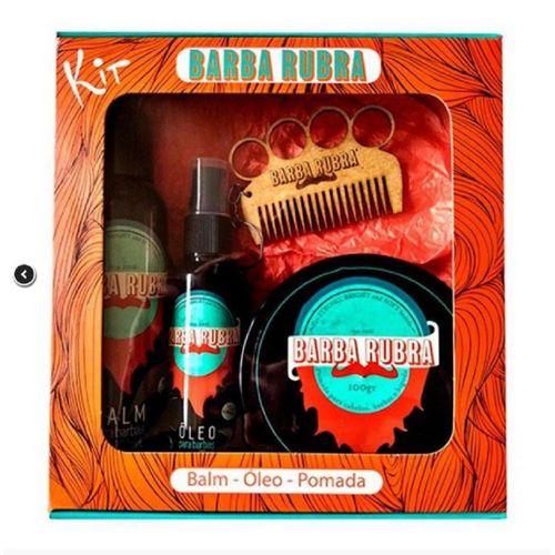 Barba-Rubra-Kit-Barba-Balm-100ml---Oleo-60ml---Pomada-100g-Gratis-Pente-Exclusivo--Fikbella-142035
