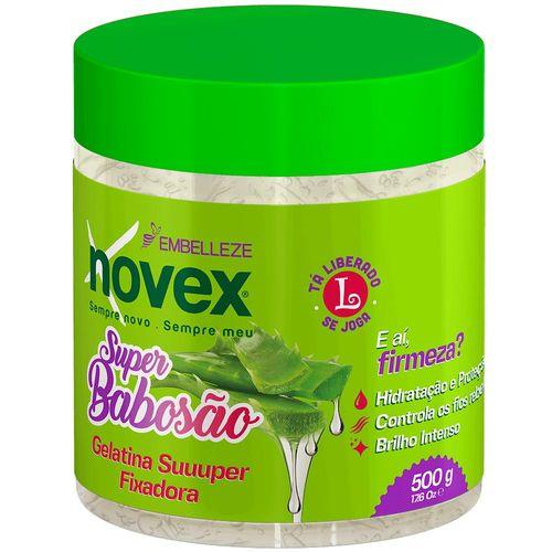 Casasbahia.com.br-Perfumaria-Cabelos-Gel-e-Pomadas-Gel-Novex-Super-Babosao-Fixador-500g-fikbella-140261