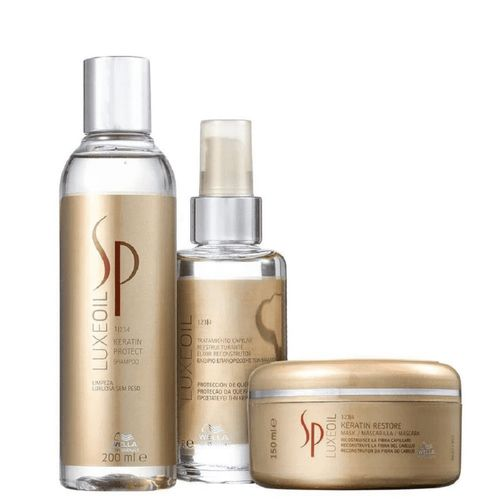 Kit-Sp-System-Professional-Luxe-Oil-Keratin-Shampoo-200ml-Mascara-100ml-Oleo-150m-Fikbella