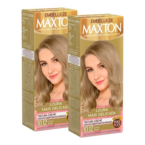 Kit-Coloracao-Maxton---Louro-Nude-10.12-C2und-Fikbella