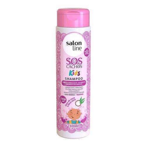 Shampoo-Salon-Line-SOS-Kids-Cachos---300ml-Fikbella-102975