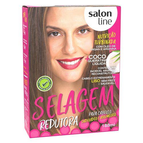 Kit-Selagem-Defrisante-Coco-Salon-Line-Coco-Ondulados-Volumosos-188ml