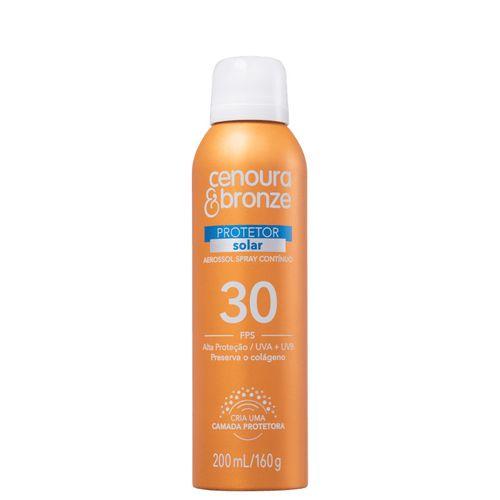 Protetor-Solar-Cenoura---Bronze-Aerossol-FPS30-200ml-Fikbela-140116