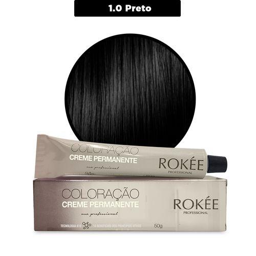 Coloracao-Creme-Permanente-ROKEE-Professional-50g-Preto-1-0-Fikbella-142495